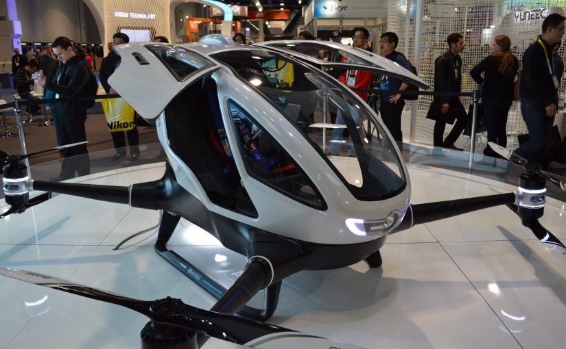 "Personal Drones – Flying ""Cars"" for All"